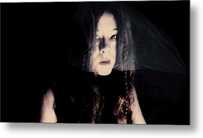 Metal Print featuring the photograph Angry With You  by Jessica Shelton