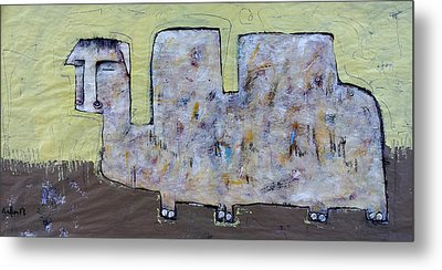 Animalia  Camelus 2 Metal Print by Mark M  Mellon