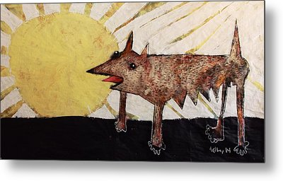 Animalia Canis Et Sol  Metal Print