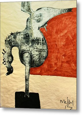 Animalia  Equos No 5 Metal Print by Mark M  Mellon