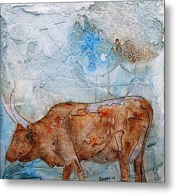 Ankole Cow Metal Print by Ronex Ahimbisibwe