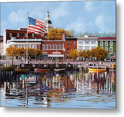 Annapolis Metal Print by Guido Borelli