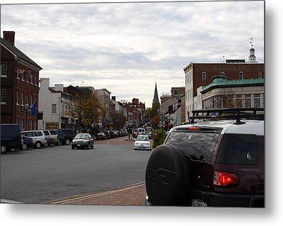Annapolis Md - 12123 Metal Print by DC Photographer
