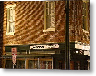 Annapolis Md - 121275 Metal Print by DC Photographer
