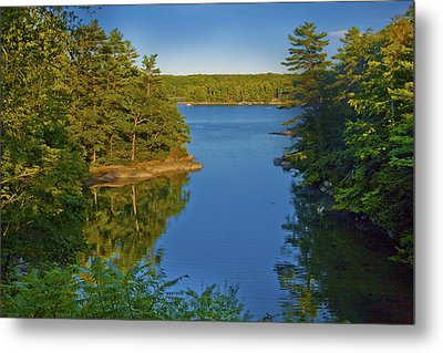 Anne's Cove Metal Print