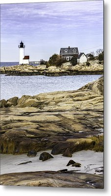 Metal Print featuring the photograph Annisquam Light by Betty Denise
