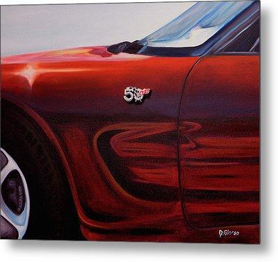 Anniversary Edition Corvette Metal Print