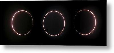 Annular Solar Eclipse Metal Print