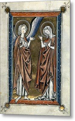 Annunciation Metal Print