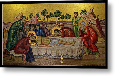Anointing Metal Print by Stephen Stookey