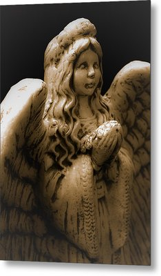 Another Angel Metal Print by Jennifer Burley