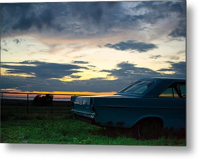 Another Ford Sunset Metal Print