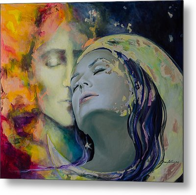 Another Kind Of Rhapsody Metal Print by Dorina  Costras