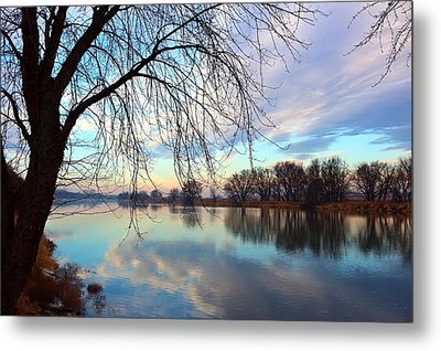 Metal Print featuring the photograph Another Morning Reflection by Lynn Hopwood