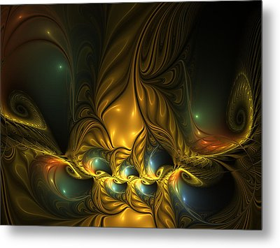 Another Mystical Place Metal Print by Gabiw Art