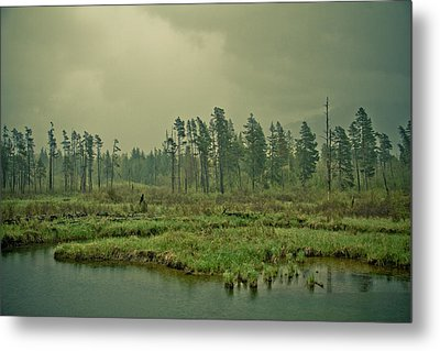 Another World-another Time Metal Print by Eti Reid