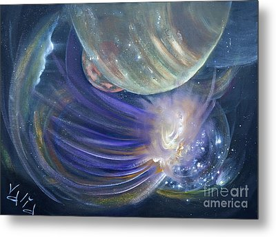 Another World10 Metal Print by Valia US