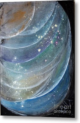 Another World6 Metal Print by Valia US