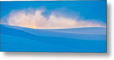 Antarctic Mist - Antarctica Sunset Photograph Metal Print