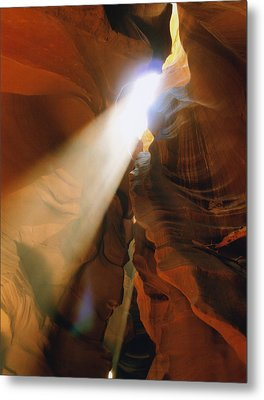 Antelope Canyon One Metal Print