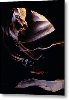 Antelope Cyn Cave Close-up Metal Print