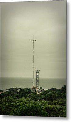 Antenna Metal Print by Marco Oliveira