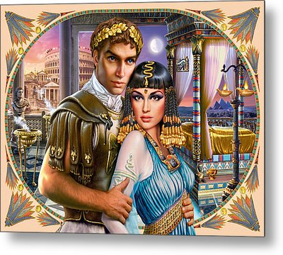 Anthony And Cleopatra Metal Print