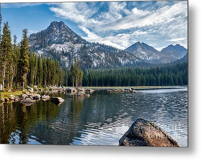 Anthony Lake Metal Print by Robert Bales