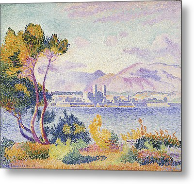 Antibes Afternoon Metal Print by Henri Edmond Cross
