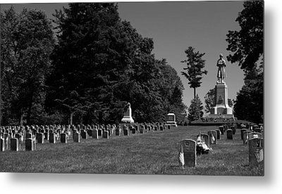 Antietam National Cemetery Metal Print