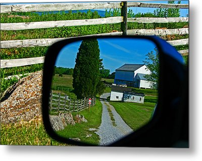 Metal Print featuring the photograph Antietam Reflections by Andy Lawless