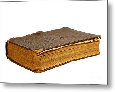 Antique Book Metal Print by Olivier Le Queinec