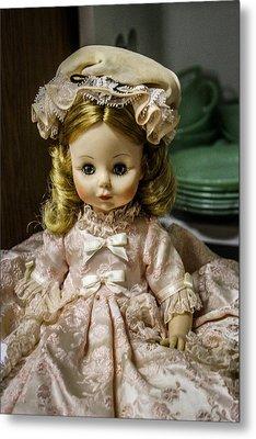 Antique Doll Metal Print