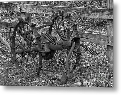 Antique Farm Equipment Metal Print by JRP Photography