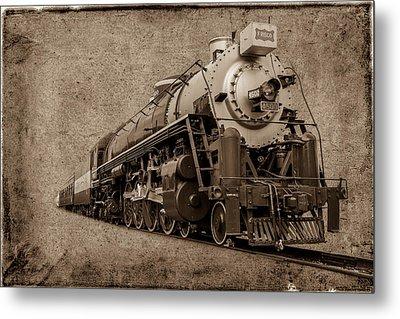 Antique Train Metal Print by Doug Long