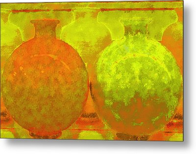 Antique Vases Metal Print by Ben and Raisa Gertsberg