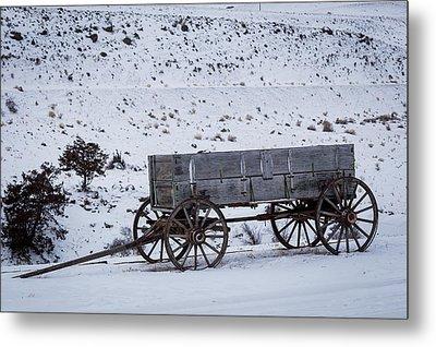 Antique Wagon Metal Print