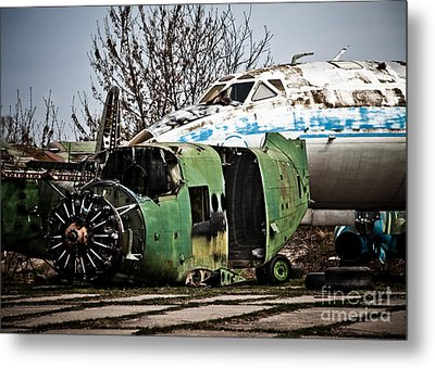 Antonov And Tupolev Metal Print