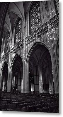 Antwerp Cathedral Metal Print