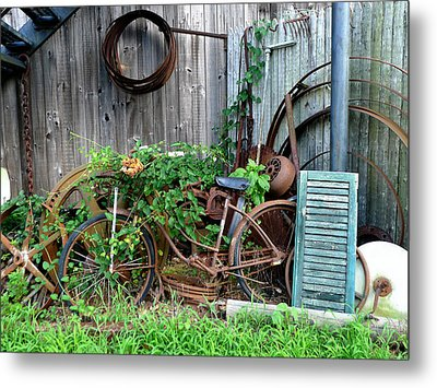 Any Old Iron Metal Print by Richard Reeve