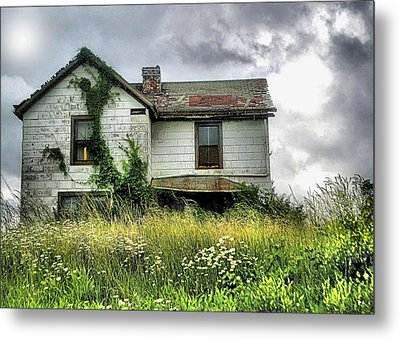 Anybody Home ??????? Metal Print