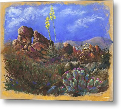 Anza Borrego April Metal Print