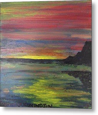 Aotearoa Sunset 2 Metal Print