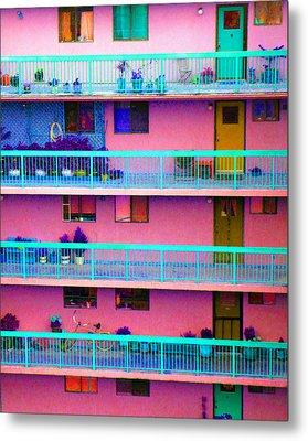 Apartments Metal Print