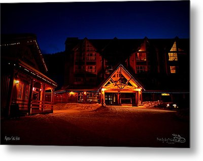Apex Mountain Ski Village Metal Print