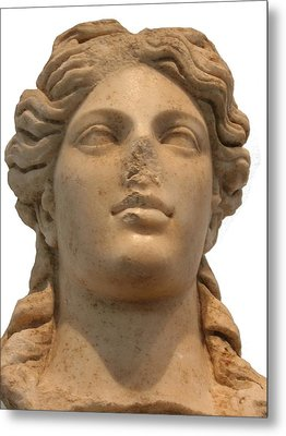 Aphrodite The Goddess Of Love And Beauty  Metal Print by Tracey Harrington-Simpson