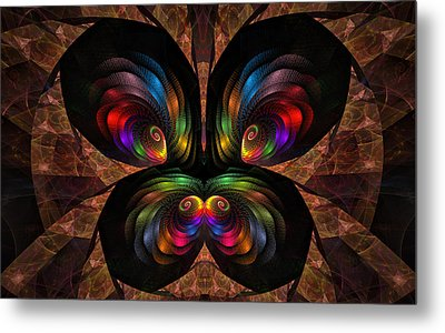 Apo Butterfly Metal Print by GJ Blackman