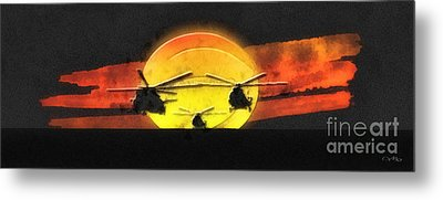 Apocalypse Now Metal Print by Mo T