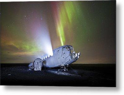 Apocalyptic Aurora Metal Print by Timm Chapman