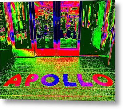 Apollo Pop Metal Print by Ed Weidman